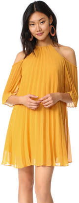 BB Dakota Gretel Pleated Dress $100 thestylecure.com