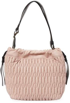 Furla Women's Leather Quilted Bucket Bag