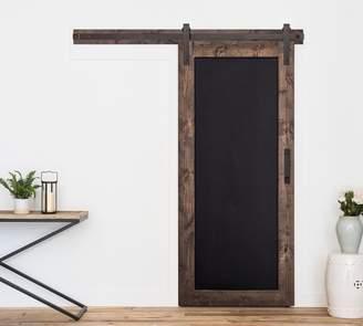 Pottery Barn Artisan Hardware Chalkboard Barn Door