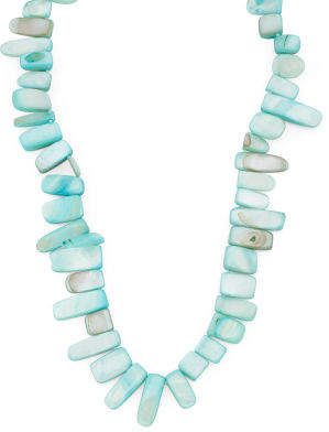 Blue Pearl Endless Necklace