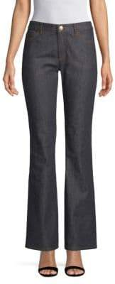 Valentino Buttoned Wide-Leg Jeans