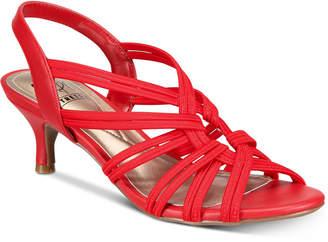 Impo Eileen Stretch Kitten-Heel Dress Sandals Women Shoes