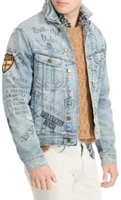 Polo Ralph Lauren Graphic Denim Jacket