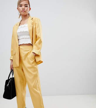 Fashion Union Petite Cigarette Pants Co-Ord