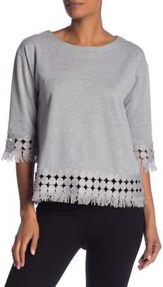 Molly Bracken Fringe Detailed Sweater