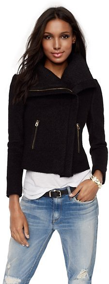 Glam Rock Chunky Sweater Jacket