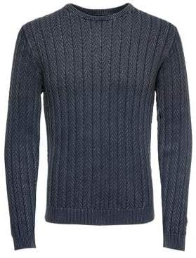 ONLY & SONS Textured Cotton Pullover