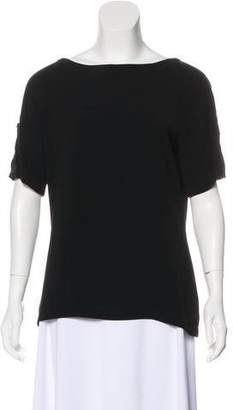 Couture St. John Scoop Neck Short Sleeve Top w/ Tags