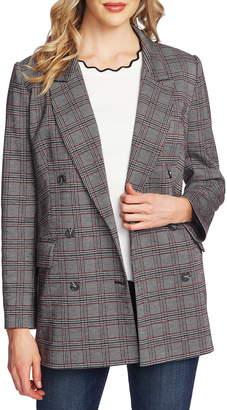CeCe Menswear Plaid Oversize Blazer