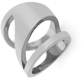 Vince Camuto Silvertone Cutout Ring