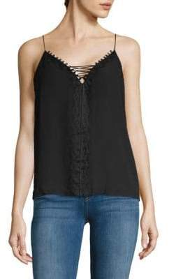 Ella Moss Lace-Up Camisole
