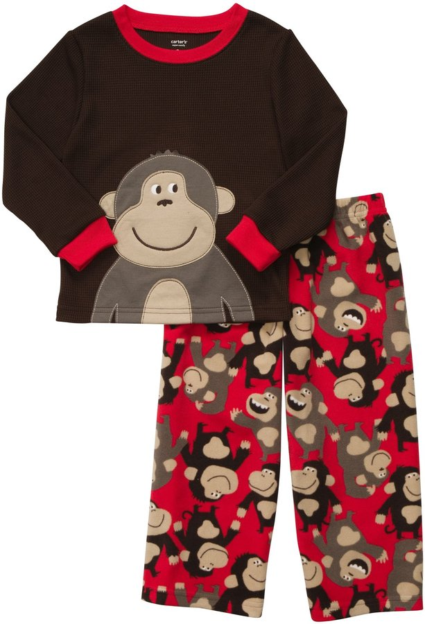 Carter's Infant 2 Piece Fleece PJ Set