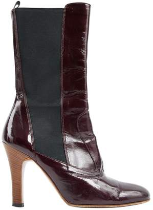 Dolce & Gabbana Patent leather riding boots