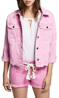 Sanctuary Wild Cherry Denim Jacket