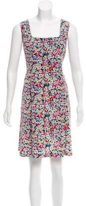 Anna Sui Floral Print Shift Dress
