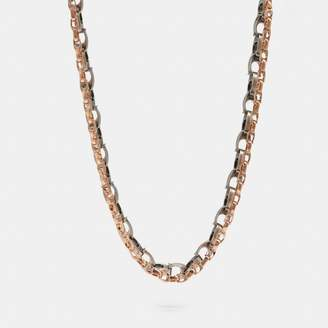 Coach Signature Chain Layered Necklace