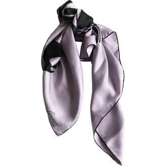 Gucci Purple Silk Scarves