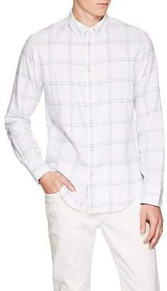 Rag & Bone Men's Tomlin Fit 2 Checked Cotton Button-Down Shirt - White