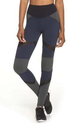 BOOM BOOM ATHLETICA BoomBoom Athletica Brushed Tricolor Panel Leggings