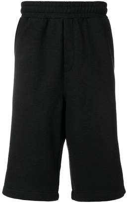 McQ side zipped track shorts