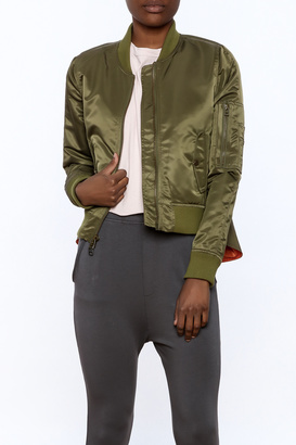 Veronica Beard Hampton Flight Bomber Jacket $695 thestylecure.com