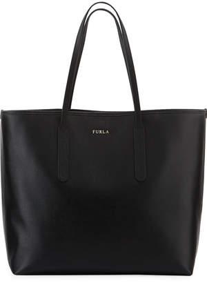 Furla Ariana Large Saffiano Open Tote Bag