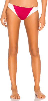 Tori Praver Swimwear Maelyn High Leg Cheeky Bottom