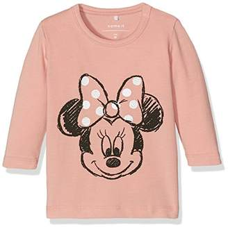 Name It Baby Girls' NITMICKEY Lincoln LS TOP MZNB WDI Longsleeve T-Shirt