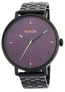 Nixon Arrow Stainless Steel Bracelet Watch