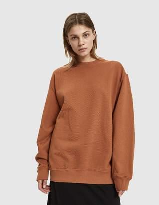 Eckhaus Latta Recycled Fleece Sweatshirt