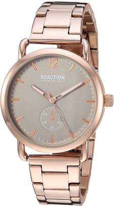 Kenneth Cole Reaction Women's Quartz Metal and Stainless Steel Casual Watch, Color Rose Gold-Toned (Model: RK50101005)