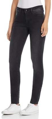 Mavi Jeans Adriana Skinny Jeans in Dark Smoke