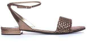 Casadei Tresse' Low Sandals