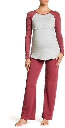 Majamas The Pastime Pajama Set (Maternity)