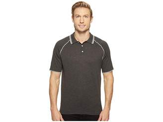 Agave Denim Watson 100% Supima Short Sleeve Polo w/ Tipping Men's Clothing