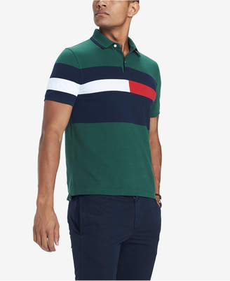 Tommy Hilfiger Men's Custom Fit Colorblocked Polo