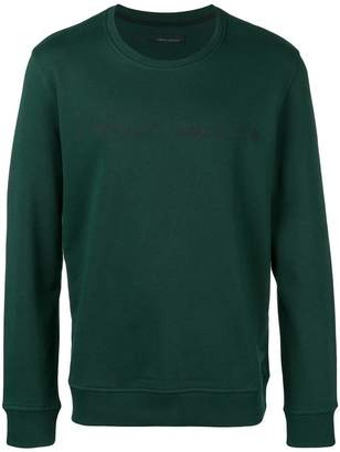 Frankie Morello logo printed sweatshirt