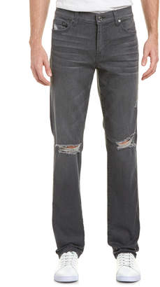 7 For All Mankind Seven 7 Slimmy Porter Grey Destroy Slim Fit