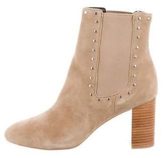 Rebecca Minkoff Embellished Suede Ankle Boots