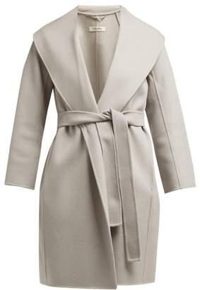 Max Mara S Messi Coat - Womens - Light Grey