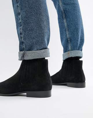 Aldo Utterson Leather Chelsea Boot in Black