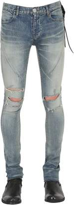 15cm Skinny Sand Washed Denim Jeans