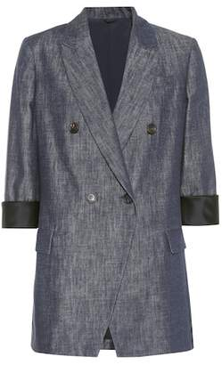 Brunello Cucinelli Denim blazer