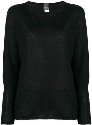 Lorena Antoniazzi Swarovski embellished cashmere sweater