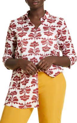 Marina Rinaldi Fusione Cotton Voile Shirt