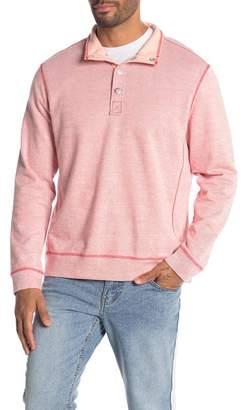Tommy Bahama Ocean Mist Mock Neck Pullover