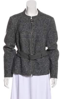 Akris Belted Wool Jacket