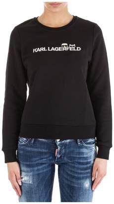 Karl Lagerfeld Paris Lagerfeld Sweatshirt K/ikonik