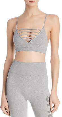 Spiritual Gangster Strappy Heathered Sports Bra
