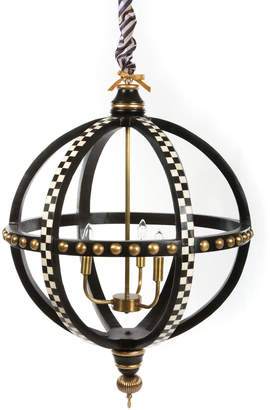 Mackenzie Childs Globe 3-Light Chandelier